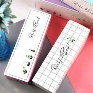 Cachos padrão de papel de embalagem caixa caixas de presente de casamento nougat cookie candy abacaxi bolo bolo de embalagem suprimentos