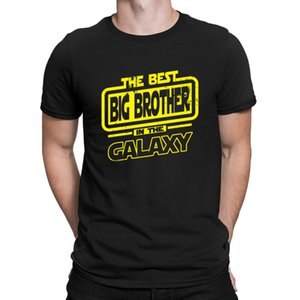 The Best Big Brother In The Galaxy T-Shirt Interesting Character HipHop Top Tshirt For Men New Style Letters 2018 Anlarach Weird