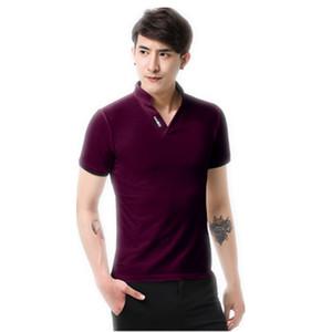 Мужские рубашки с коротким рукавом Поло рубашки бренда хорошее качество Slim Fit Mens Polo Merken Designer Polo Luxury Polos Plus размер 5XL