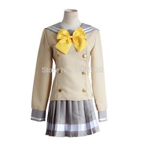 Amar viver! Sol Aqours Cosplay Takami Chika Kurosawa Rubi Kanan Matsuura Sailor Suit Love Live Escola Tops uniformes + Skirt
