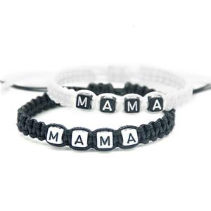 1pcs Handmade Mama Pulseiras Mãe Infinito ajustar o tamanho da festa do bebé da mamã nova gravidez Amamentação presentes jóia frisada