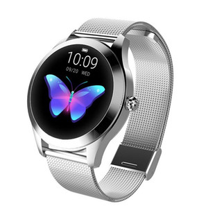 KW10 Smart Watch Women 2019 IP68 Waterproof Heart Rate Monitoring Bluetooth For Android IOS Fitness Bracelet Smartwatch