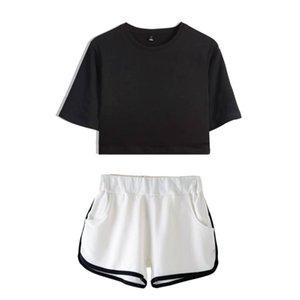 fashion women dresses women two piece outfits womens designer t shirts t shirt+short pants 2 piece outfits