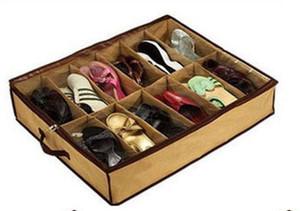 Chaussons Shoe Closet Organizer Accueil Salon sous le lit Holder boîte de rangement boîte à chaussures Container Case Storer DLH355