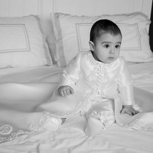 2020 Красивые Платья Для Крещения Младенцев Атласные Длинные Платья Для Крещения Малышей Кружева Бисером Дети Первое Платье Для Общения