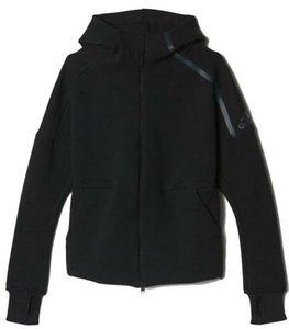 Yeni Z. N. hoody erkekler spor Takım Elbise Siyah Beyaz Eşofman kapüşonlu ceket Erkek / kadın Rüzgarlık Fermuar sportwear