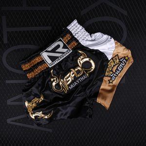 MMATrunks Fighting Pantaloni Muay Thai Boxing Shorts Stampato Shorts Mens Grappling corto di arti marziali Kickboxing Boxeo Pants