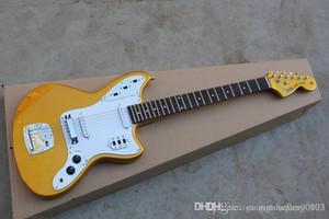 Na guitarra elétrica Top Quality Fábrica Golden Guitar JAGUAR Custom Shop stratocaster da