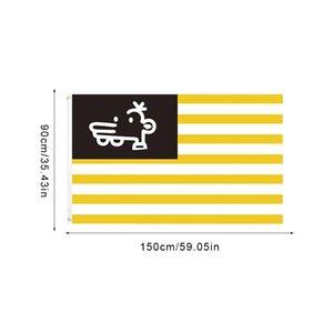 Мэнни Флаг выцветанию символ единства и флаг мира Американских Сувенирные Желтых Белых нашивки флаг для наружного сада патио