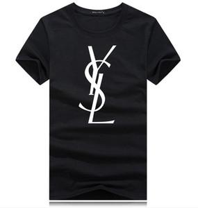 Marka Harf Lüks Gömlek ile 2020 Moda Tasarımcıları En Tees Kısa Kollu Casual tişört Yeni Gelenler Kadın Erkek Yeni Moda Tişörtlü