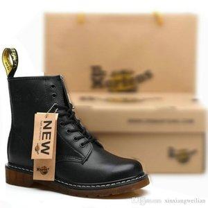 Inverno caldo di vendita Autunno Inverno scarpe di cuoio Dr Stivaletti Uomini Donne Snow Boots Doc Martens Scarpe caviglia Botas Dms