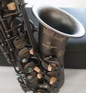 La meilleure qualité Yanagisawa A-992 Alto Saxophone E-Flat Black Sax Alto Embouchure ligatures Reed Accessoires d'instruments de musique cou