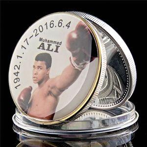 2016 WBC Sportman Of The Century World Boxing Muhammad Ali plaqué argent Collection de pièces Défi 1 oz
