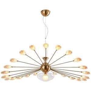 Нордический после современный простой творческий личность гостиная и столовая лампы атмосфера дизайнер знаменитости искусство ИНС люстра