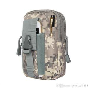 Telefon 1000D Cordura için D30 Taktik Molle Bel Çantaları Erkekler Açık Spor Casual Bel Paketi Çanta Cep Telefonu Kılıf