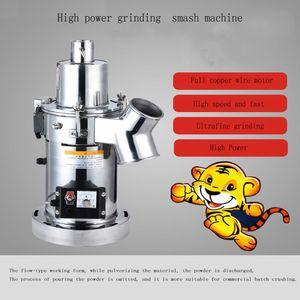 Amoladora máquina polvo Granos de café seco Especias Pasapurés Rectificadora Inicio Medicina Harina polvo trituradora
