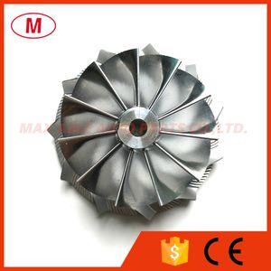 TD04HL 49189-x 19T 46.02/58.00 mm 11 + 0 лопастей Turbo Aluminum 2618 / фрезерное / Заготовочное компрессорное колесо для картриджа турбокомпрессора Volvo / CHRA / Core