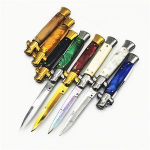 9-Zoll-italienische Mafia automatische Klappmesser Outdoor-Camping-EDC Werkzeug Messer