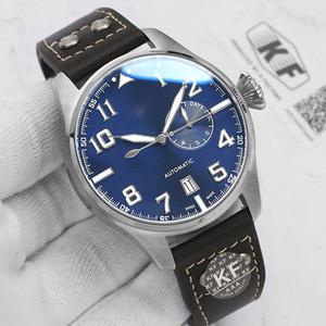 Rose manera de las mujeres de lujo del oro para hombre de diseñador de las señoras movimiento automático de alimentación Recerve Big Pilot Kf Relojes hombre Relojes de pulsera
