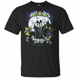 Mouse and Friends Halloween 2019 T-shirt per gli uomini neri, t-shirt Navy S-6X