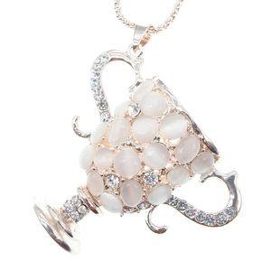 Handmade Antique Silver rhinestone bead World's Champion Trophy pendant Charms Pendant Jewelry