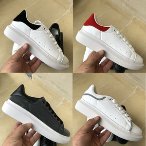 Luxe Plate-forme de mode Chaussures Casual Hommes Femmes Marine peau de serpent triple queue blanc noir supérieure baskets concepteur mens réfléchissantes 3M 36-44