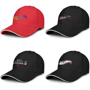 Unisexe Hot Wheels Toy Amérique Drapeau Mode de baseball Sandwich Hat Fit Chauffeur de camion mignon Cap Logo Gay Pride arc-en-
