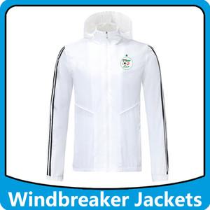 алжир национальной футбольной команды ветровка толстовка с капюшоном куртки, алжир с капюшоном на молнии Ветровка футбола зимнего пальто Запуск куртки