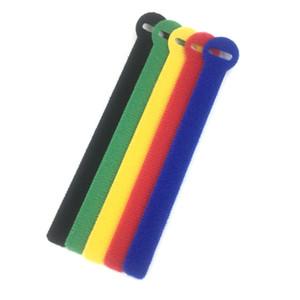 5 цветов ленты кабельные стяжки многоразовые крепления кабельные ленты красочные нейлоновые шнуры для управления проводным кабелем компьютерные кабельные стяжки