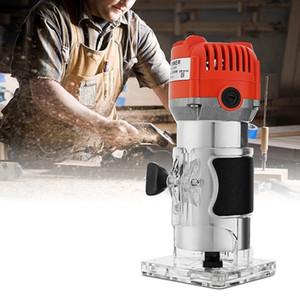 220 V 620 Watt Elektrische Laminat Kantenschneider Mini Holz Router 6,35mm Spannzange Carving Maschine Zimmerei Holzbearbeitung Elektrowerkzeuge