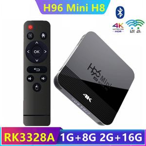 H96 미니 H8 안드로이드 9.0 TV 박스 RK3228A 2기가바이트 + 16기가바이트 듀얼 2G + 5G 와이파이 BT4.0 카하는 TV 드 스마트 TV TX3 미니 안드로이드