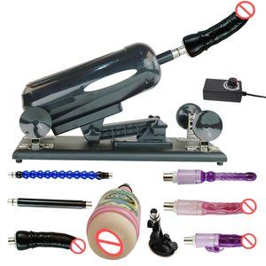 Fredorch Sex machines F2 pistola telescópica automática fickmaschine em produtos de brinquedos sexuais femininos com vibradores