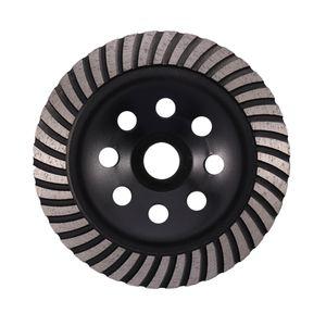 Продвижение! 6-дюймовая Алмазная Turbo Row шлифовального Кубок Wheel Подходит для 7/8 дюйма Arbor Алмазного шлифовального диска для бетона масонства