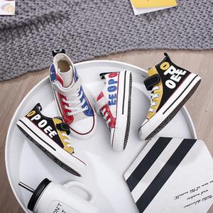 Kinder Schuhe Jungen Leinwand Schuhe Mädchen Casual Kinder Turnschuhe Sport Mode Für Jungen Mädchen Frühling Herbst Fitness Schuhe Gummi