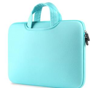 Многоцветный Мягкий Laptop Sleeve 11 13 15 15,6-дюймовый ноутбук сумка чехол для Macbook Air 13 Pro Retina 15 Сумки для ноутбуков 12 14 DHL LLFA