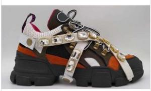 New Designer chaussures espadrille FlashTrek avec les femmes de diamant amovibles hommes trainer montagne Chaussures d'escalade Hommes d'extérieur Chaussures de marche MC02