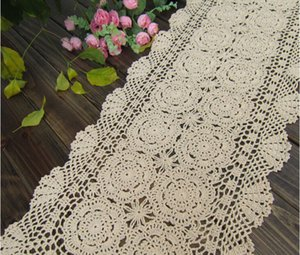 New Handmade Crochet Retangular Corredor Da Tabela toalha de mesa retangular quente Doilies quente Capa de Sofá pano Mais tamanho