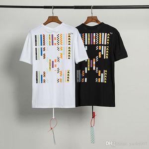 Роскошные мужские футболки высокое качество американский бренд цвет мозаика печати футболка негабаритных OS версия лето короткий тройник