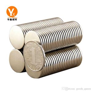 Hot sale Super Strong Round Disc Cylinder 12 x 1.5mm Magnets Rare Earth Neodymium Free Shipping 1000pcs 004