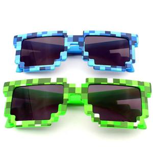 3 colores Juegos Gafas Juguetes Niños de gafas de sol del mosaico Los niños y niñas fuera gafas de sol de los niños regalo de cumpleaños 20PCS