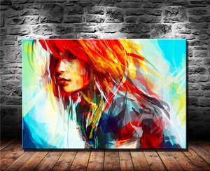 Pinturas de arte moderno de la mujer, Decoración HD Impreso arte moderno pintura sobre lienzo, 1 Piezas (sin marco / capítulo)