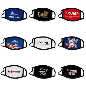 F 1 1Pcs Mascarillas 3 capas a prueba de polvo facial Maske er Ski Set Polvo Diseñador Trump Máscara facial adultos mascarillas E7M # 836