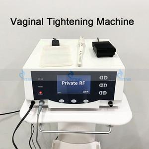 Venda quente Thermiva RF Vaginal aperto Radio Frequency Máquina RF Tecnologia Rejuvenescimento Vaginal Privada Cuidados Tratamento Salon Máquina