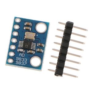 AD9833 DDS إشارة مولد وحدة الموجي تردد عداد راسم مراقب PCBA إلكترونيات القياس DIY