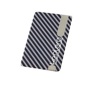 Carbon-Faser-Magnetkartenhalter Carbon-Faser-Art-Mappen-Muster-Geschenk