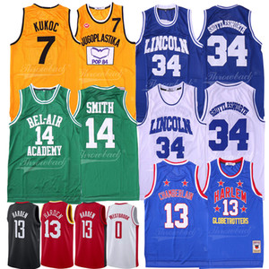 Bel-Air Academy 25 Banks Will 14 Smith James 13 Harden Brick Lower 19 Aaliyah Ucla Westbrook Lincoln Shuttlesworth Jersey