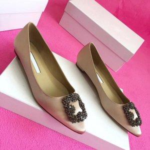 2020 бренд досуг обувь женской балетки женской лодочной обуви женских плоскодонные хрустальные стразы декоративной элегантный высококачественного Eur
