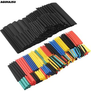 Günstige Dämmstoffe Elemente 127Pcs / 328Pcs Auto-elektrisches Kabel Schlauch Kits Schrumpfschlauch Schlauchummantelung Sleeve Sortierte 8 Größen