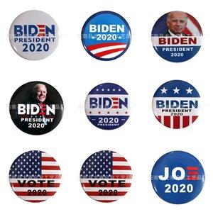 10 PC 1 Tronco Parches Bordados para el hierro Parche Ropa para el paño Costura de adornos accesorios etiquetas Biden insignia en la ropa de hierro en P # 93