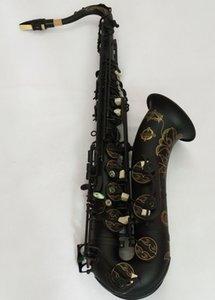 Nuovo giapponese di alta qualità Suzuki Tenor Saxophone Bb Strumento musicale Black Nickel Gold Saxprofessional Professional Spedizione gratuita